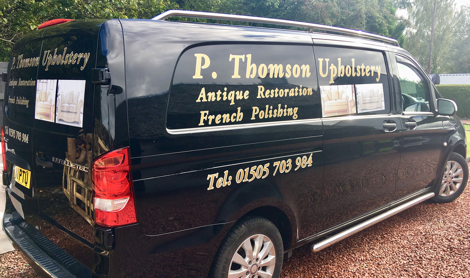 P. Thomson Upholstery: Upholstery, French Polishing and Antique Restoration